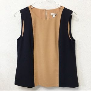 J Crew Colorblock Sleeveless Tank